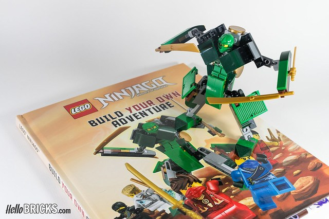 Review Livre LEGO Ninjago DK Build Your Own Adventure 14