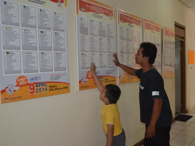 Data dinding KPU, berguna bagi para pencari informasi.