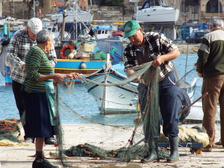 Marsaxlokk Sunday Market, Malta - the tea break project solo female travel blog