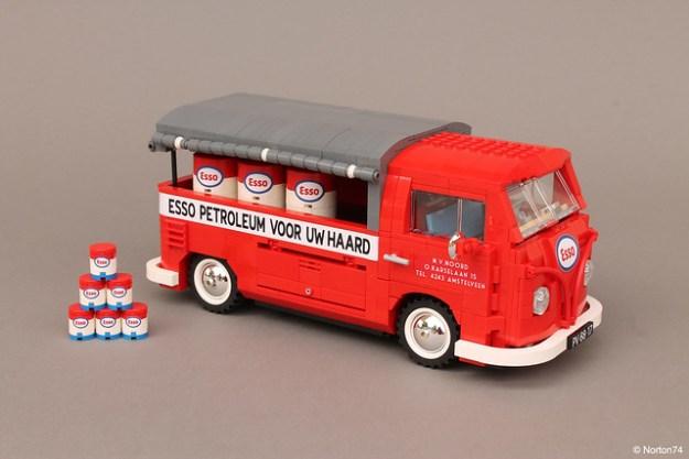 "Volkswagen T1 Esso Service | ""canvas"" pick-up"