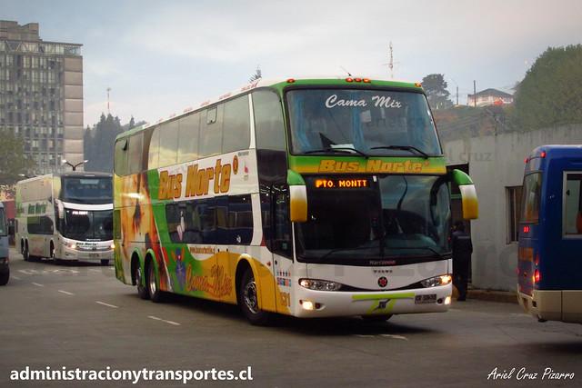 Bus Norte (Cama Mix) | Puerto Montt | Marcopolo Paradiso 1800 DD - Volvo / CVSB35 - 131