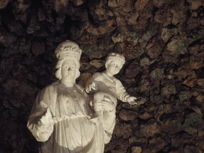 Grotto of Oour Lady of Mellieha, Malta - the tea break project solo female travel blog