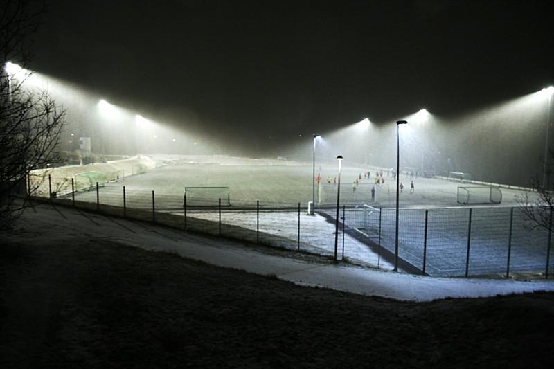 Fylkir football field in Reykjavik