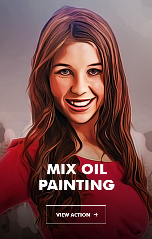 Mix Oil Painting Photoshop Action - 96