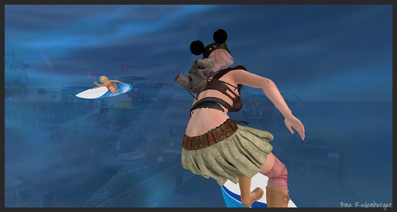 Surfing at SL13B