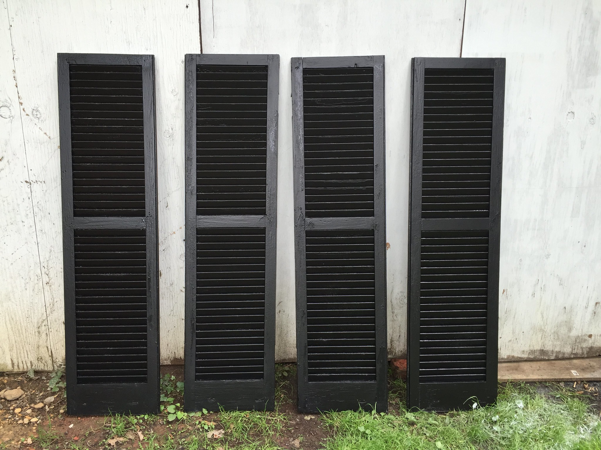 Painted shutters