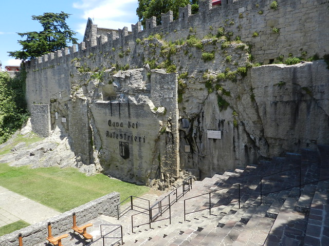 San Marino - cava dei Balestrieri