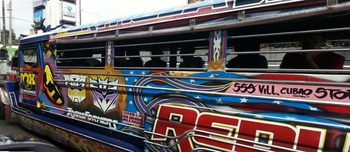 Transformers Jeepney