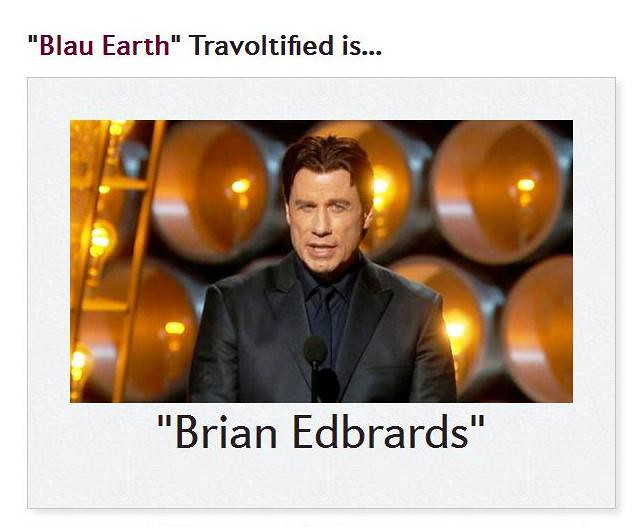 Travoltified