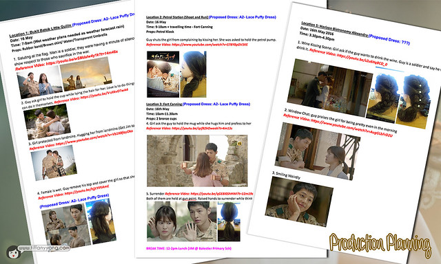 Descendants of the Sun Bridal Behind The Scenes Production Planning
