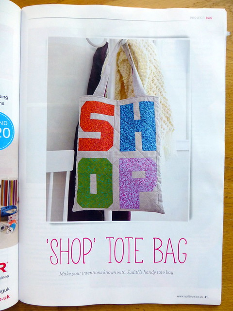 SHOP tote (Quilt Now June16)