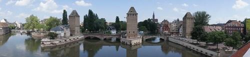 Strasbourg panorama