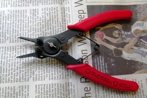 C-clip Pliers with Small Pins