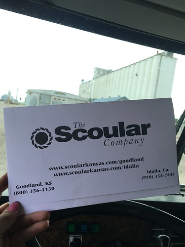 Hauling to Scoular in Goodland, Kan.