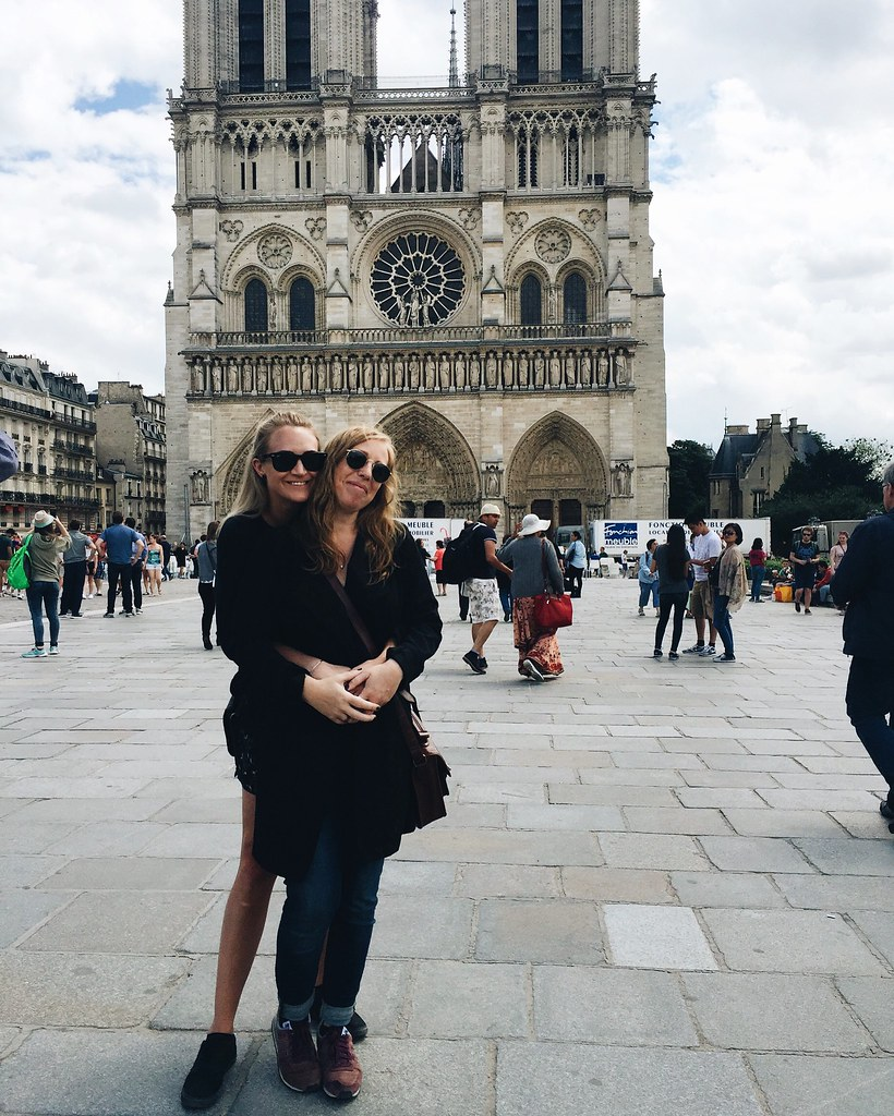 Paris 2016 me and lina