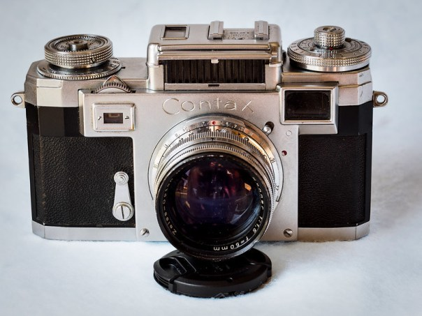 Zeiss Contax IIIA 35mm rangefinder film camera
