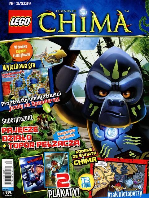 LEGO Legends of Chima Oficjalny Magazyn 2014-03 01
