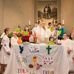 Première communion à Scherlenheim