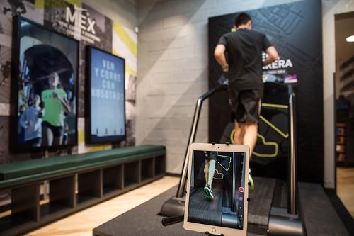 Nike Store Polanco -análisis de pisada