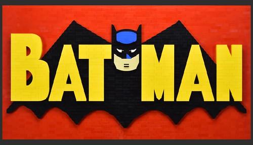 LEGO Batman Mosaic