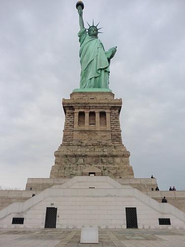 Patrimonio de la Humanidad en Europa y América del Norte. Estados Unidos. Estatua de la Libertad en Nueva York.