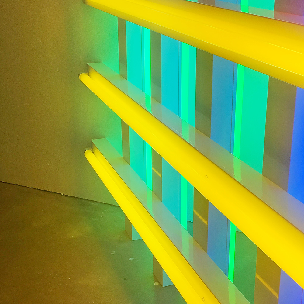 Dan Flavin Untitled (in honour of Harold Joachim) detail