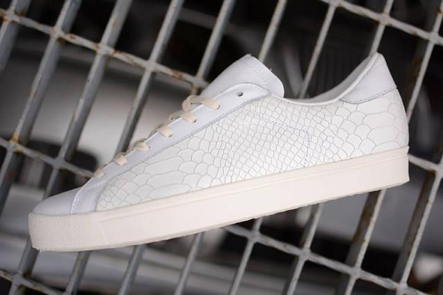 Adidas Consortium Rod Laver Vintage Python White
