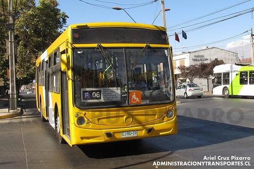 Transantiago - STP Santiago - Caio Mondego H / Mercedes Benz (CJRD39)
