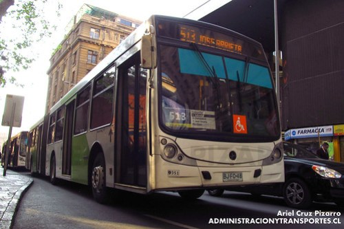 Transantiago - Metbus - Caio Mondego HA / Mercedes Benz (BJFC48)