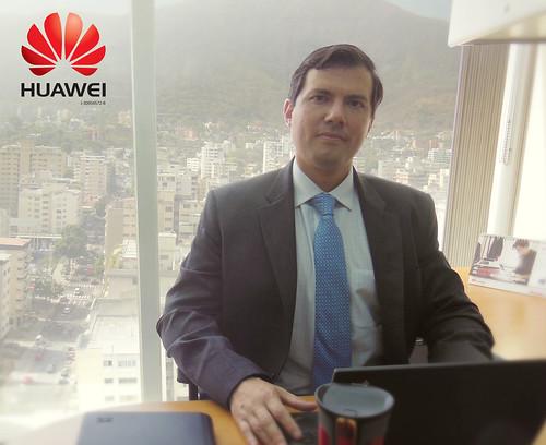 uan Ignacio D'Alta como nuevo vocero para su División de Terminales Huawei