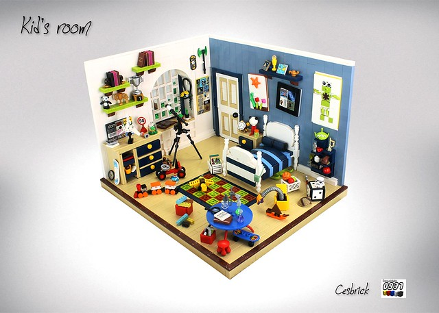 LEGO Chambre d'enfant