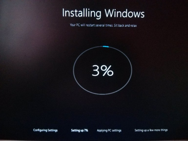How to install windows 10 step 9