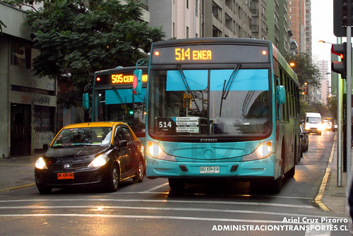 Transantiago - Metbus - Caio Mondego H / Mercedes Benz (BDXR29)