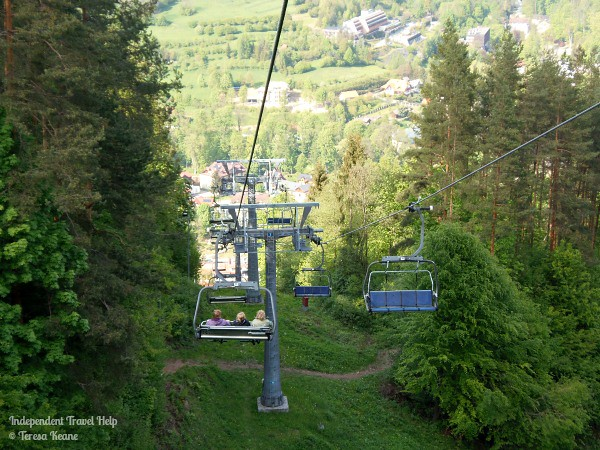 Chair lifts in Szczawnica