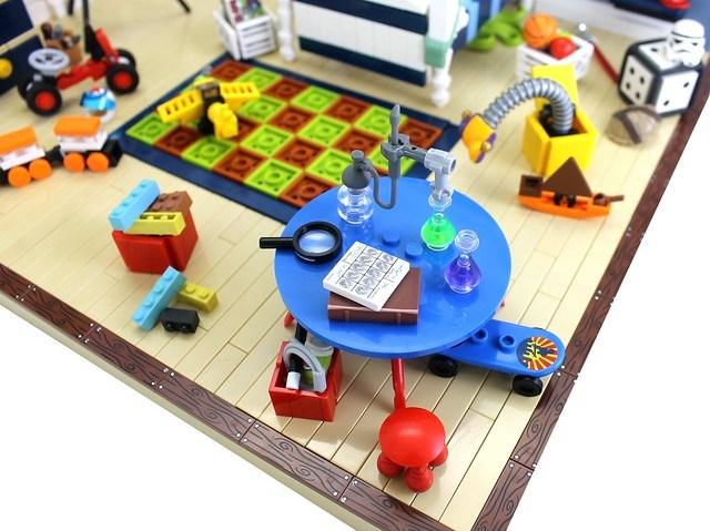 LEGO Chambre zoom 1