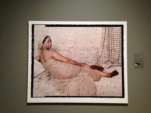 Lalla Essaydi, Les Femmes Du Maroc, La Grande Odalisque. 2008.