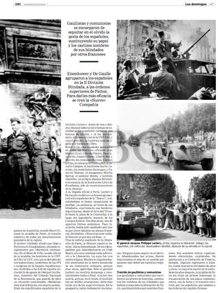 15f03 Los españoles que liberaron París 2