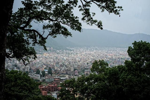 View from Swayambhunath