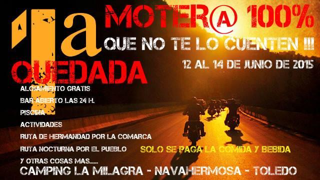 1ª Quedada Moter@ - Navahermosa (Toledo)