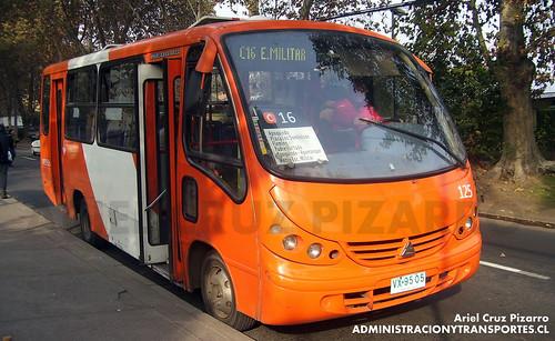 Transantiago - Redbus Urbano - Neobus Thunder / Agrale (VX9505)