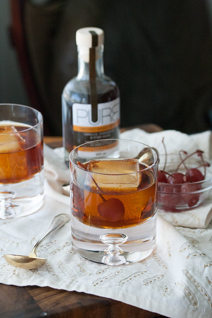 Spiced Maple Manhattan