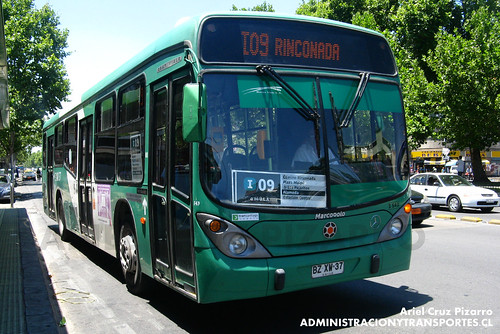 Transantiago - Buses Vule - Marcopolo Gran Viale / Mercedes Benz (BZXW37)
