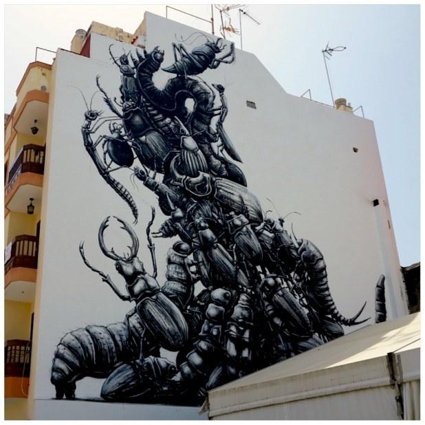 Roa puerto street art