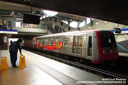 Metro de Santiago - Alstom AS2002 R4470 - Quilín (L4)