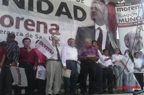 Candidatos del PRI, PAN y PRD deberían estar en la cárcel: AMLO en cierre de campaña de Morena