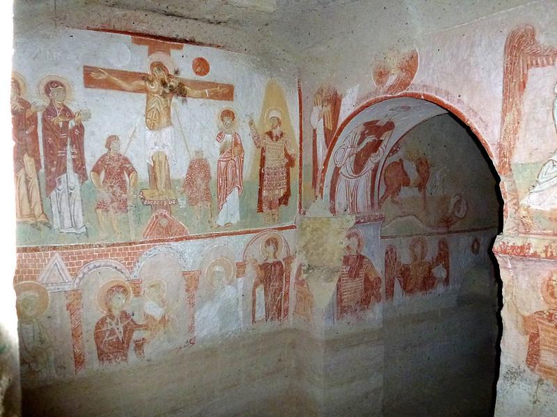 Turquie - jour 22 - Dernier jour en Cappadoce - 025 - Göreme - Saklı Kilise