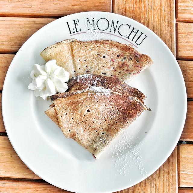 chamonix coi bambini - crepes ristorante Le Monchu