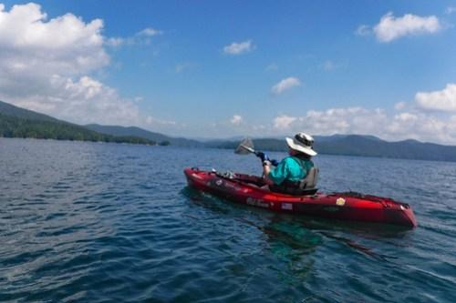 Lake Jocassee with Bennie Waddell-30