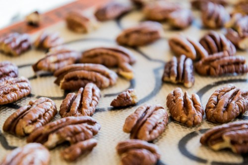 toasting the pecans adds more flavor