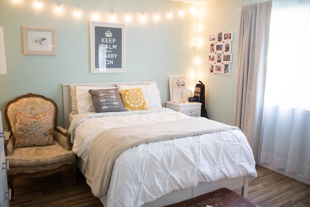 The Guest Bedroom #thelovelygeek